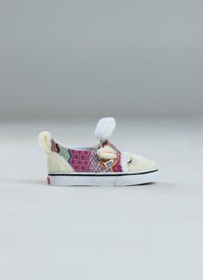 Vans Slip-On V Alpaca Shoe - Toddlers