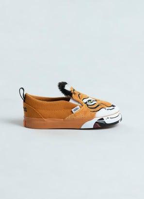 Vans Slip-On V Wild Tiger Shoe - Infant