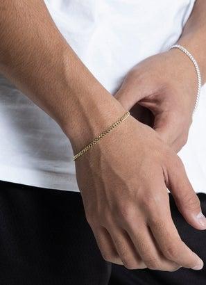 Vendetta 3mm Cuban Link Bracelet 22cm