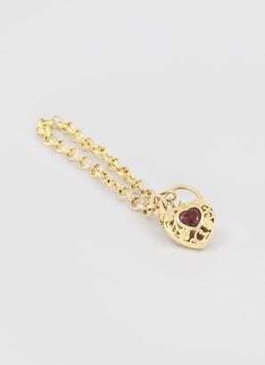 Vendetta Belcher Bracelet Heart Locker 22cm