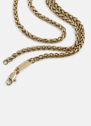 Vitaly Flower Basket Weave Chain