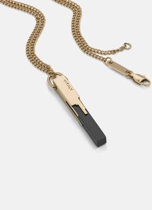 Vitaly Glitch Gold Necklace