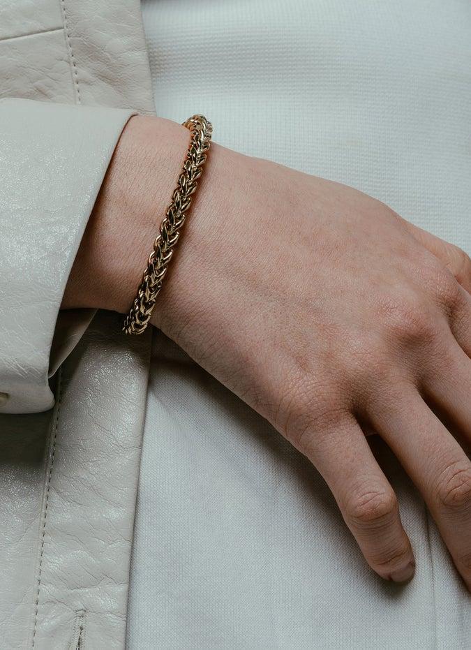 Vitaly Kusari Gold Bracelet