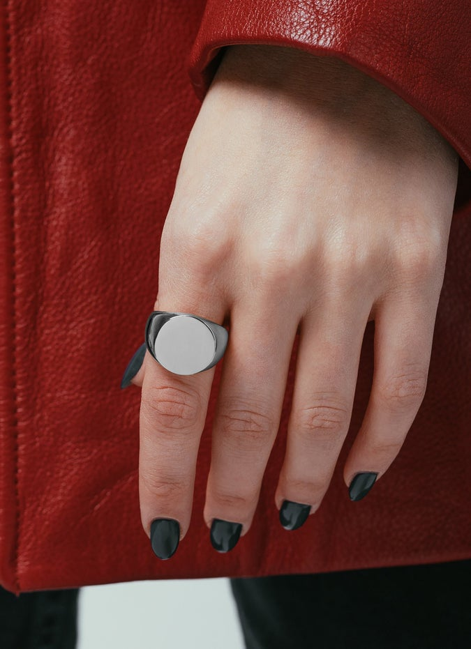 Vitaly Rey Stainless Steel Ring