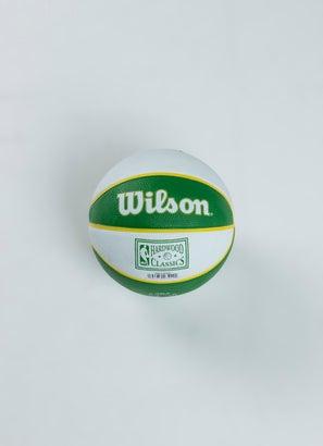 Wilson NBA Boston Celtics Team Retro Mini Basketball