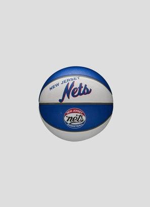Wilson NBA Brooklyn Nets Team Retro Mini Basketball