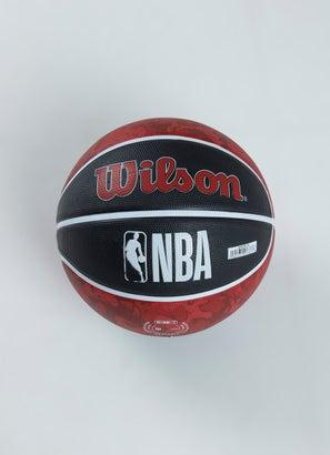 Wilson NBA Chicago Bulls Team Tiedye Basketball