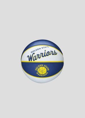 Wilson NBA Golden State Warriors Team Retro Mini Basketball